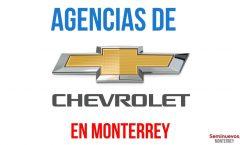 agencias de autos chevrolet en monterrey