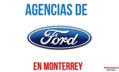 como llegar agencias ford en monterrey