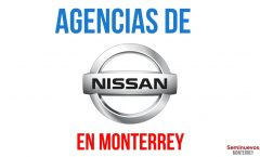 agencias de autos nissan en Monterrey
